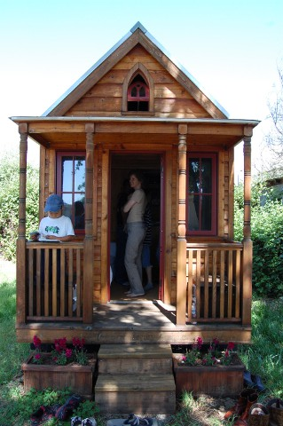 Tiny House von vorne