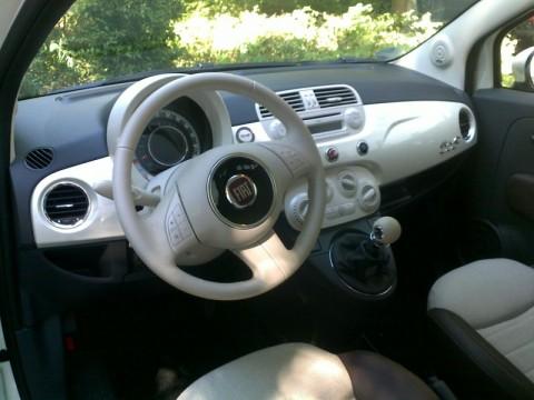 Fiat 500c Armaturenbrett