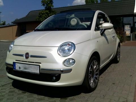 Fiat 500c Front