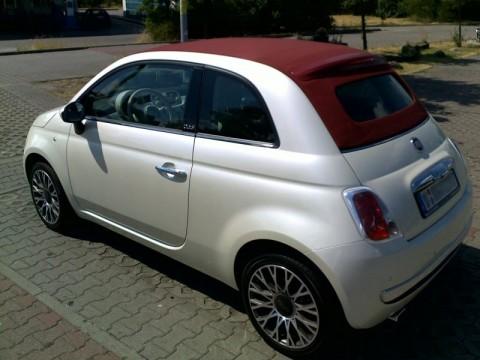 Fiat 500c geschlossen