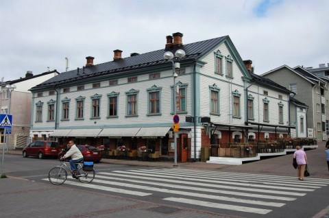 Oulu Stadthaus am Markt