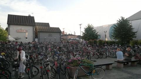 Fahrräder am Marktplatz