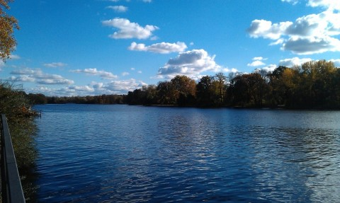 Herbst an der Spree