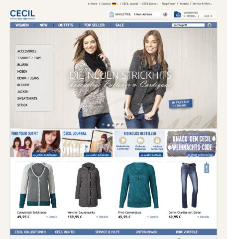 CECIL Startseite