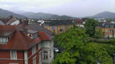 Freiburg - kalt und regnerisch