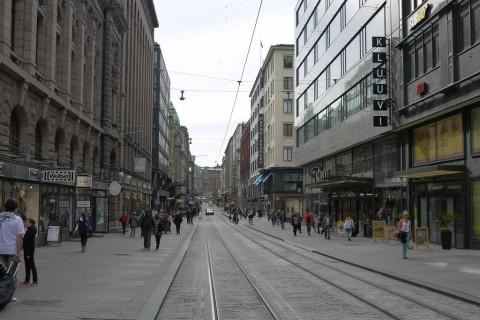 Einkaufsstrasse Aleksandrinkatu