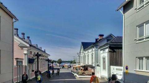 Oulu - Blick zum Marktplatz und Hafen