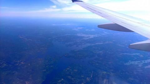 Finnland: Ein See, ein Wald, ein Haus, ein See,...
