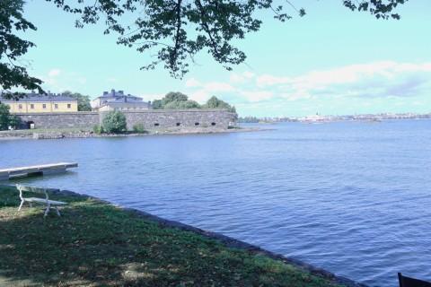 Blick hinüber nach Helsinki