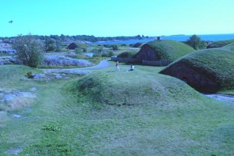 Keine Hobbithöhlen, sondern Munitionslager
