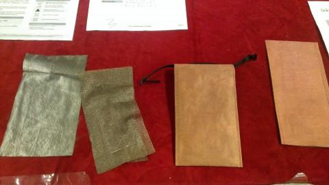Handyhüllen aus Metallgewebe