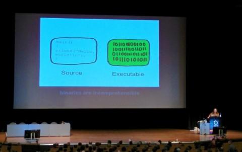 Richard Stallmann redet über Freiheit