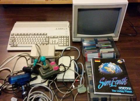 Amiga 500 mit Zubehör