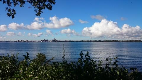 Rügen - Blick auf Stralsund
