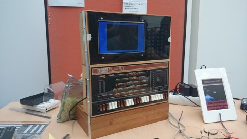 PDP-8 Replika mit Space War