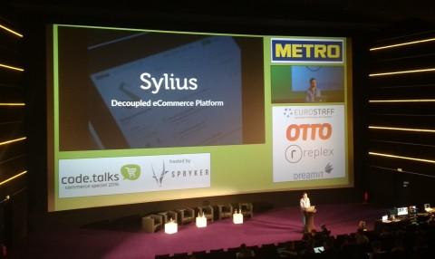 Sylius Vortrag - mit wirklich großem Beamer