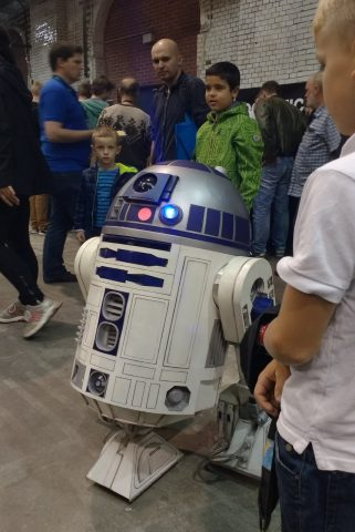 R2-D2 in Aktion