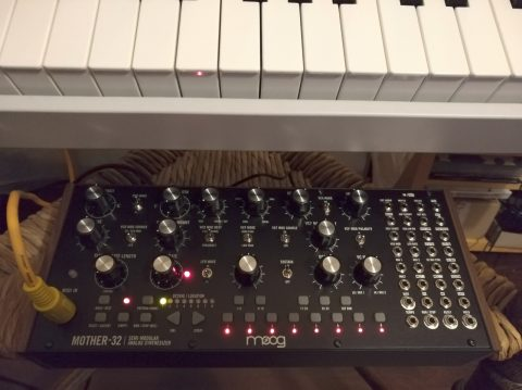 Mein Moog Mother 32