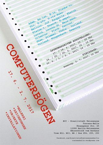 Ausstellung Computerbögen