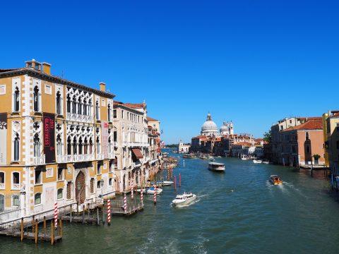 Canal Grande von der Ponte dell' Accademia