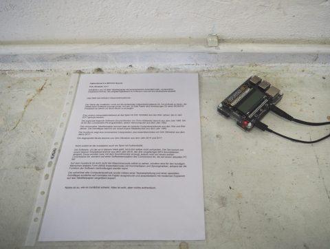 Detail: Raspberry Pi und Erläuterung