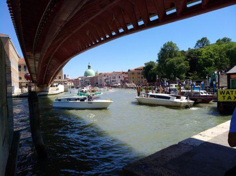 Erster Eindruck: Blick vom Piazzale Roma auf den Canal Grande