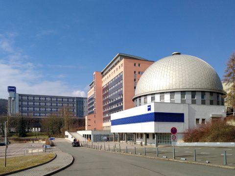 Jena - Zeiss neben der Ernst Abbe Hochschule