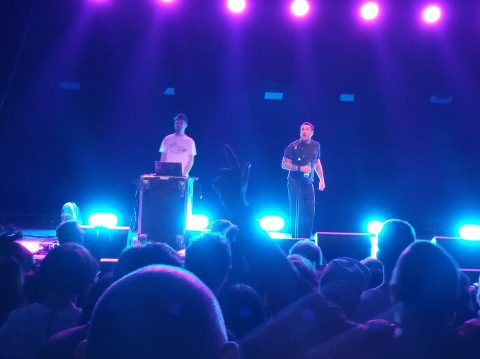 Sleaford Mods in der Columbiahalle Berlin 2018