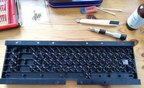 C64 Tastaturstempel