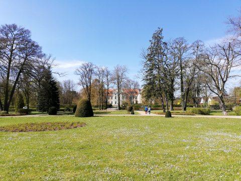 Fürstenberg: Schloss und Schlosspark
