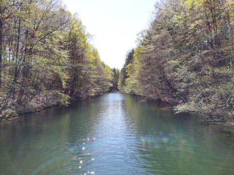 Stechlinsee - Kühlwasserrücklauf