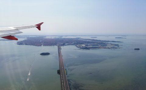 Venedig im Anflug