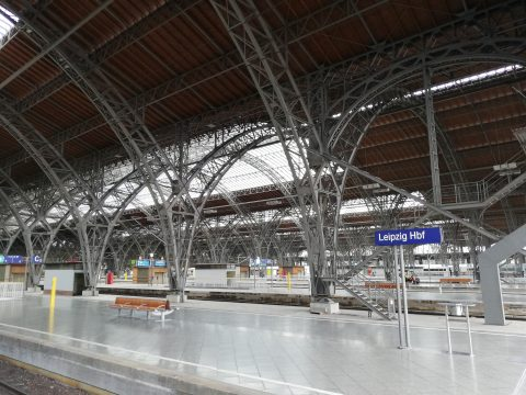 Leipziger Hauptbahnhof - Dachkonstruktion