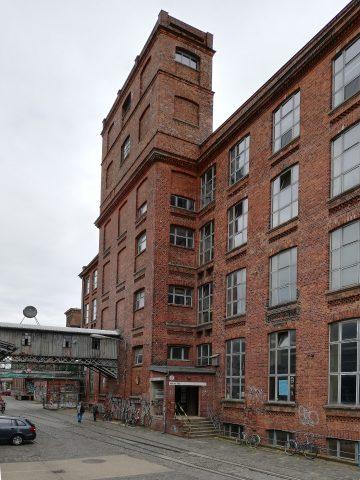 Alte Baumwollspinnerei - ein Kunstmekka